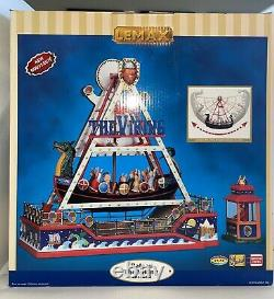 Lemax Viking Ship 2010 Village Collection Carnival #04237 Excellent Condition