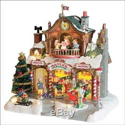 Lemax Village Building Collection Santa's Workshop Christmas Tabletop Decor Gift