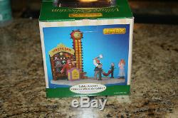 Lemax Village Carnival Collection Strong Arm Challenge New In Box