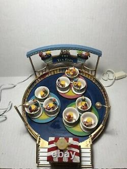 Lemax Village Collection Carnival The Tea Cups 2008 #84808! Read