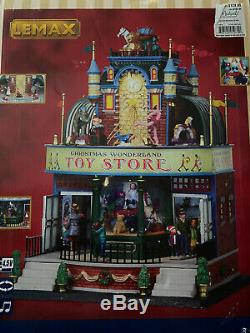 Lemax Village Collection Christmas Wonderland Toy Store