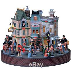 Lemax Village Collection / City Sidewalks / Light & Sound / Original Box