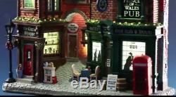 Lemax Village Collection English Lane Lighted Facade Christmas Table Decor Gift