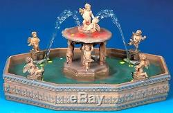 Lemax Village Collection Lighted Square Fountain Christmas Tabletop Decor Gift
