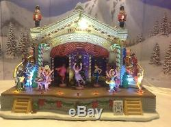 Lemax Village Collection Nutcracker Suite Musical Christmas Display