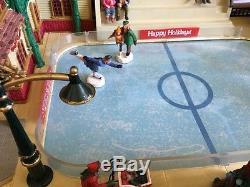 Lemax Village Collection Parkside Ice Skating Plaza 44172 HTF Christmas Decor