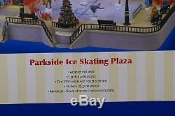 Lemax Village Collection Parkside Ice Skating Plaza 44172 New Christmas Decor