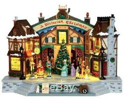 Lemax Village Collection Sight & Sounds A Christmas Carol Play