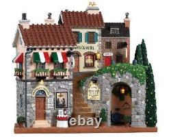 Lemax Village Collection TUSCANY HILLS FACADE Battery Operated # 85320 NIB HTF