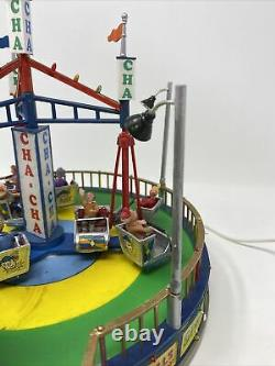 Lemax Village Collection The Cha Cha Carole Towne Carnival Ride