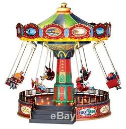 Lemax Village Collection The Giant Swing Ride with Adaptor # 44765