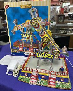 Lemax Village Collection The Zinger (Light, Sound & Motion) Carnival Ride