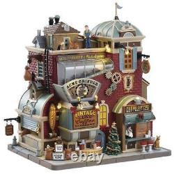 Lemax Vintage Grind Coffee Company Prelit Village Building