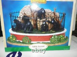 Lemax Zoo Gorilla Habitat #03803 Retired / Discontinued product New in Box