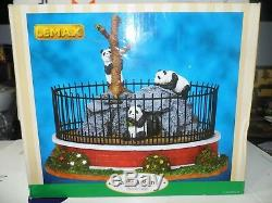 Lemax Zoo Panda Cage #93770 Retired / Discontinued product New in Box