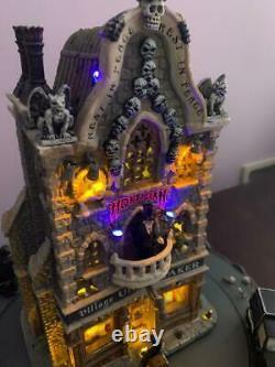 Lemax spooky town Village Undertaker 9 pcs, Brand New, Retired, Pristine, Rare