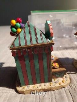 Lemax village collection carnival kiosks 2004 #43440 retired 2012 read descripti