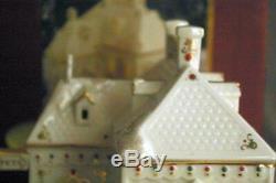 Lenox 2008 Mistletoe Park Series Lighted Pet Shoppe In Box
