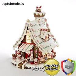 Lighted Christmas Decorations Gingerbread House Category Touch Holiday Bright
