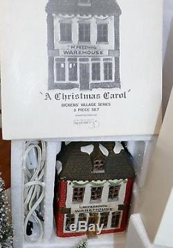 Lot Vtg Dept Department 56 Dickens Village Series Christmas Lighted House & More