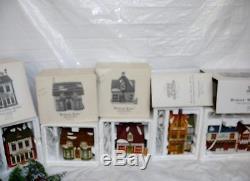 Lot Vtg Dept Department 56 Dickens Village Series Christmas Lighted House & More