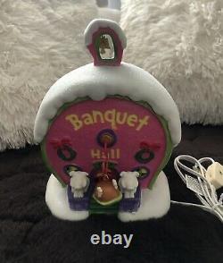 MINT Rare Dept 56 Who-ville Banquet Hall #4027595 Grinch Village, Dr. Suess
