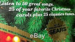 MR CHRISTMAS /'HOLIDAY in the COUNTRY' / ANIMATED ICE POND / PLAYS 50 SONGS