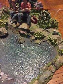 Mayberry Hawthorne Village Fishing Pond Very Rare No Box