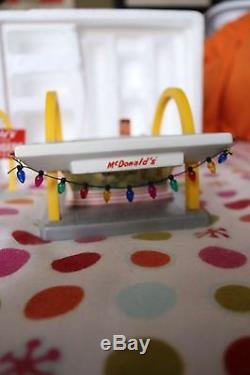 McDonald's Classic Lighted Ceramic Sculpture New In Box