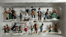 Members Mark 2006 Victorian Village COMPLETE Lighted Hand Painted Christmas Set