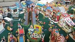 Miniature Amusement Park 1000 pieces lights and sounds. Collection