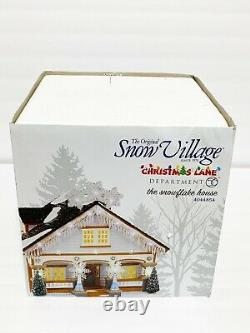 Mint Dept 56 Village Christmas Lane Snowflake House Christmas Lane 4044854