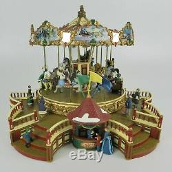 Mr. Christmas 1999 Holiday Around the Carousel Animated Musical Decoration Works