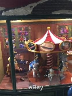 Mr. Christmas Gold Label Collection Animated Village Hyde Park Toy Store