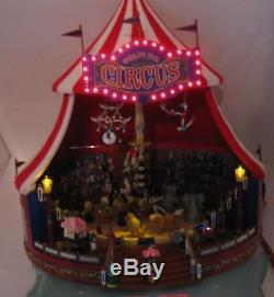 Mr Christmas Gold Label Worl's Fair Big Top Circus Tent