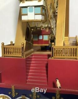 Mr Christmas Gold Label World's Fair Grand Ferris Wheel In Original Box