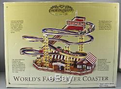 Mr Christmas Worlds Fair Roller Coaster, Mint, Sealed Parts, Never Used, Mint