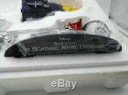 NBC Silver Anniversary Santa Jack Sleigh Masterpiece Edition Hawthorne Village