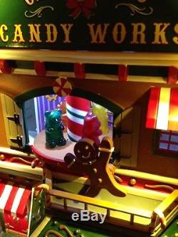 NEW 2016 LEMAX CHRISTMAS VILLAGE CANDY WORKS withSIGHTS & SOUNDS Animated