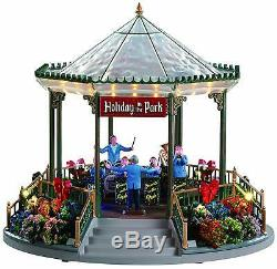 NEW 2019 Lemax Village Holiday Garden Green Bandstand Christmas Table Decor Gift