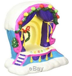 NEW Department 56, Who-Ville Band Shell, Grinch Village Holiday Dr. Seuss