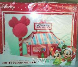 NEW Dept 56 Disney, Minnie's Cotton Candy Shop, Mickey's Merry Christmas Village