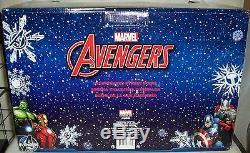 NEW Marvel AVENGERS LED Village Lemax Carole Towne Dept 56 House Nicholas RARE