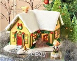 NEW VERY RARE, Dept 56, Peanuts Village Pigpen's House #4026956, Retired