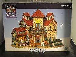NOS CAROLE TOWNE Chambon Winery 2009 Christmas Village Town Wine RARE NEW Bar