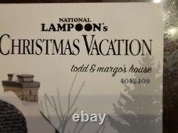 National Lampoon Christmas Vacation Todd And Mango's House Village Display