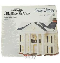 National Lampoons Christmas Vacation Boss Shirleys House 4049650 Dept. 56