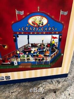 New Lemax Sights & SoundsCrazy CarsAnimatedcarnival /train/village Bumper Car