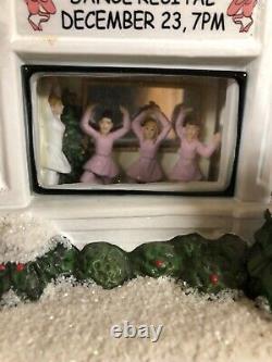 New St. Nicholas Square Sophia's Dance Academy Christmas Village Ballet School