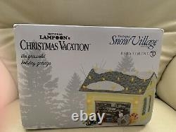 Nib-department 56 National Lampoon's Christmas Vacation The Griswold Garage